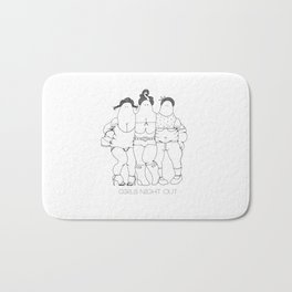 Girls Night Out Bath Mat