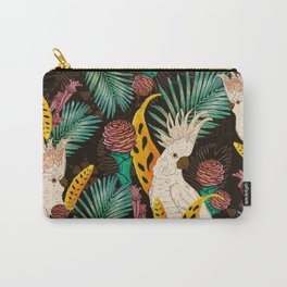 Tropical Cockatoos Carry-All Pouch