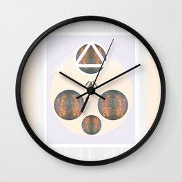 Monkey Head: Circle & Triangle Wall Clock