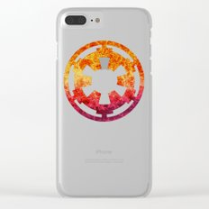 Star Wars Imperial Explosion Clear iPhone Case