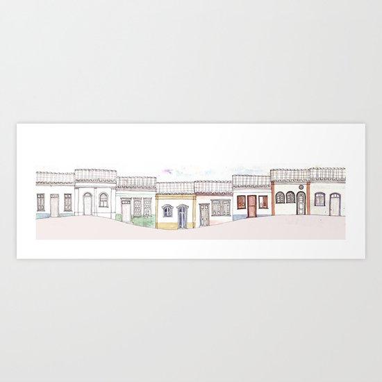 houseland Art Print