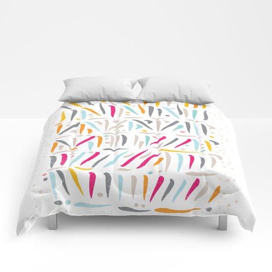BRUSH STROKES Comforters