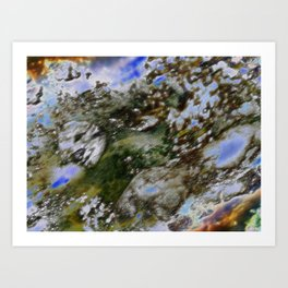 Face your fading World Art Print