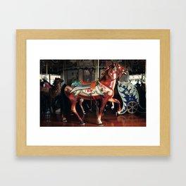 The Rose Horse Framed Art Print
