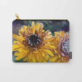 Frosty Marigold Carry-All Pouch