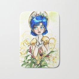 Sailor Jupiter Yellow Flower Bath Mat