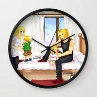 fullmetal Wall Clocks featuring Family by manu-chann
