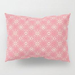 Coral Shibori Pillow Sham