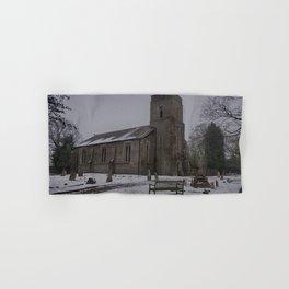 Dunkirk Church In Winter Hand & Bath Towel