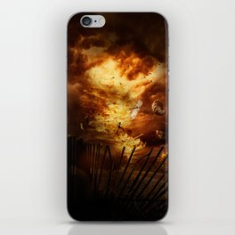 Firestorm iPhone Skin