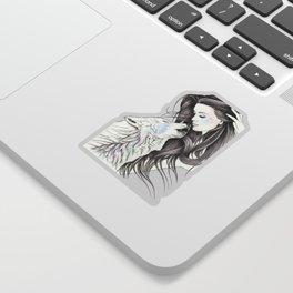 Witch Wolf Sticker