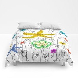 Garden of Friends Comforters