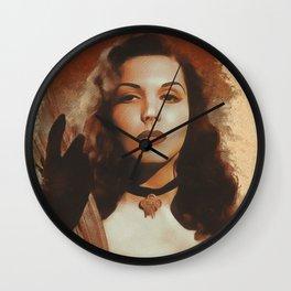 Ann Miller, Hollywood Legend Wall Clock