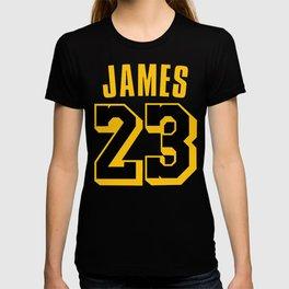 James 23 vector art T-shirt