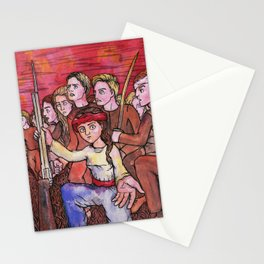 Rise in Revolution Stationery Cards