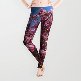Spring blossoms pink Leggings