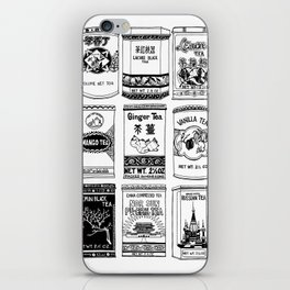 chinese teabox collection iPhone Skin