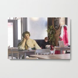 """The Disillusioned Finals Week"" Metal Print"