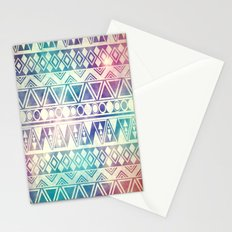 Tribal Orbit Stationery Cards