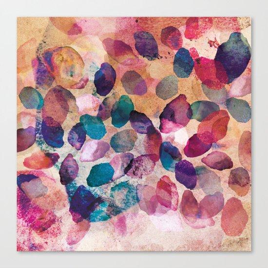 Dazed Crystals Canvas Print
