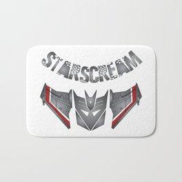 Starscream Decepticon logo Bath Mat
