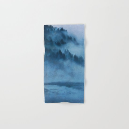 Forest Above the Clouds Hand & Bath Towel