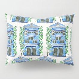 Tropical Blue House Pillow Sham