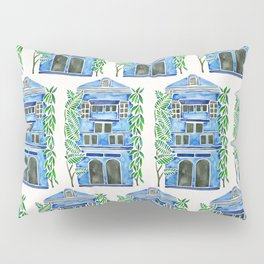 Tropical Blue House Pillow Sham