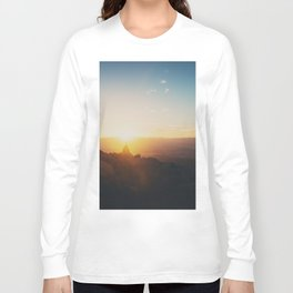 sunrise on Mt Woodson ... Long Sleeve T-shirt