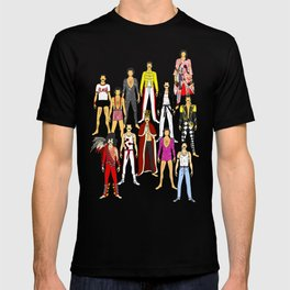 Freddie Line Up T-shirt