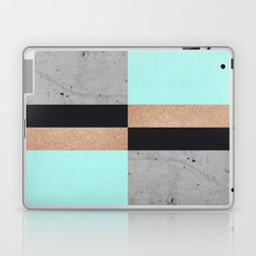 Abstract Turquoise Pattern Laptop & iPad Skin