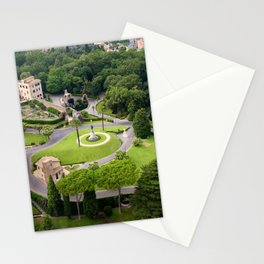 Vatican Gardens Stationery Cards