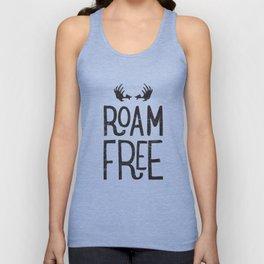 Roam Free - Yosemite Unisex Tank Top
