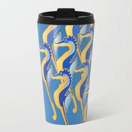 Fresco of the Seahorses. Travel Mug