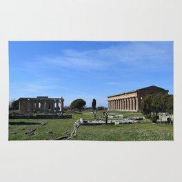 templi di paestum Rug