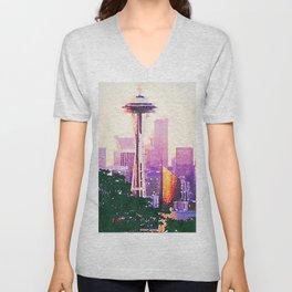 Seattle Unisex V-Neck