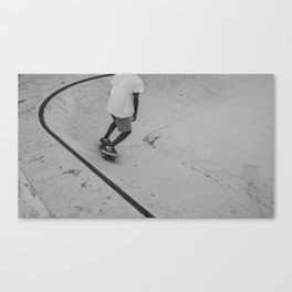 skateboard 2 Canvas Print