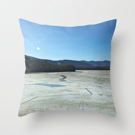 Water Supply Throw Pillow