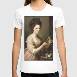 Angelica Kauffman - Portrait of a Lady as a Vestal Virgin (1782) T-shirt