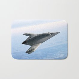 Northrop Grumman Stealth Fighter Bath Mat