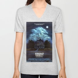 fright night Unisex V-Neck
