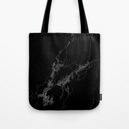 Wellington map New Zeland Tote Bag