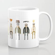 Walter White Pixelart Transformation- Breaking Bad Mug