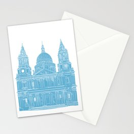 St Paul's Cathedral - London architectural print Stationery Cards