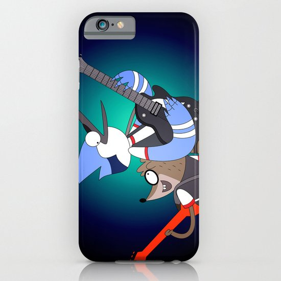 Mordecai and the Rigbys iPhone & iPod Case
