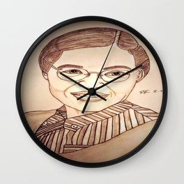 Rosa Parks by Double R Wall Clock