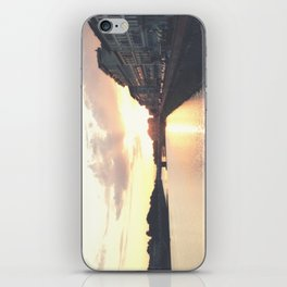 sunset on the Arno iPhone Skin