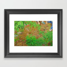 A Day of Forest (6). (close look) Framed Art Print