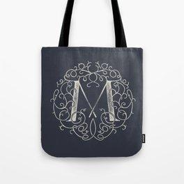 """""""M""""ONOGRAM Tote Bag"""