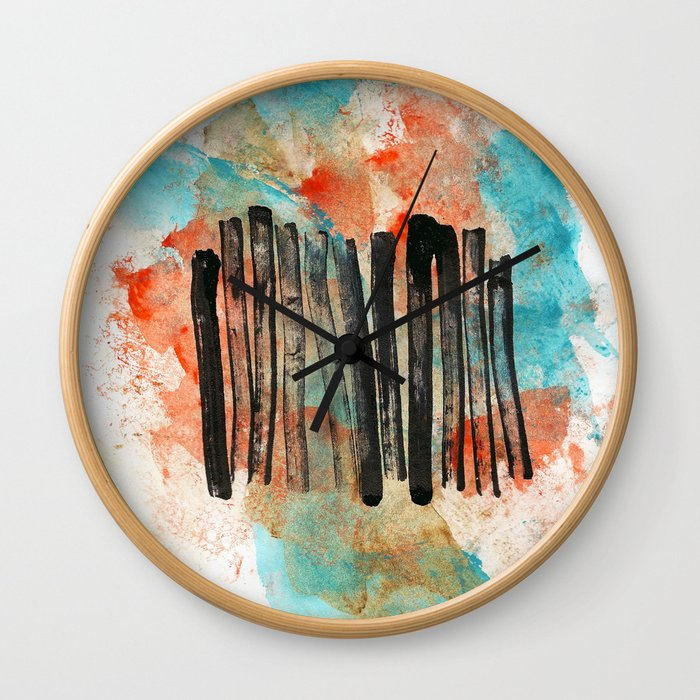 Communication Breakdown Wall Clock